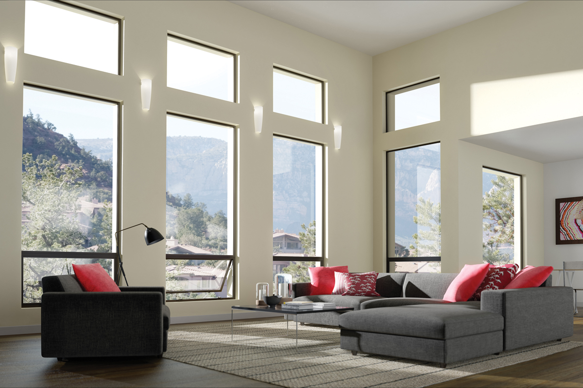 Aluminum Combination Windows