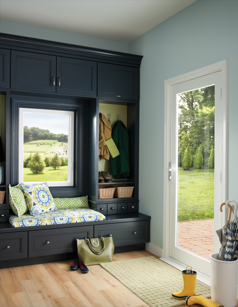 Tuscany Series casement window and single pane patio door