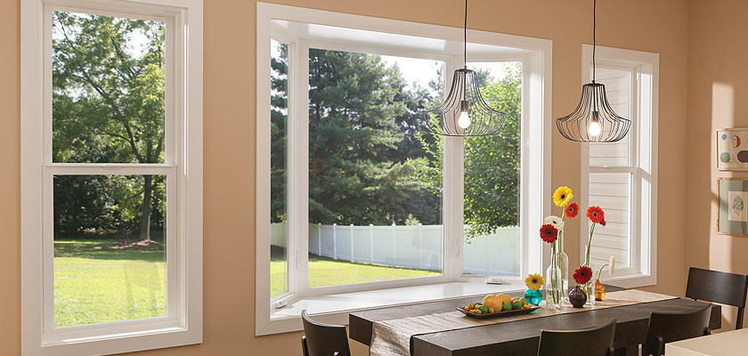 Bay Bow Windows Vinyl Aluminum Fiberglass Window Milgard