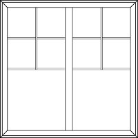 Valance Grids u2013 Valance grids are similar to the Standard grids but are only across the top of the window or door. Like Standard grids you can specify the ...  sc 1 st  Milgard Windows & Window Grids u0026 Door Grids Components | Milgard Windows u0026 Doors