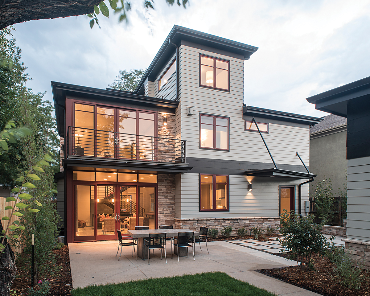 located in the heart of denvers cory merrill neighborhood the new idea home was designed to meet the needs of a growing family active adults - Idea Home Co