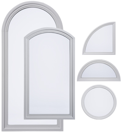 Arch Amp Radius Windows Wood Vinyl Fiberglass Amp Aluminum