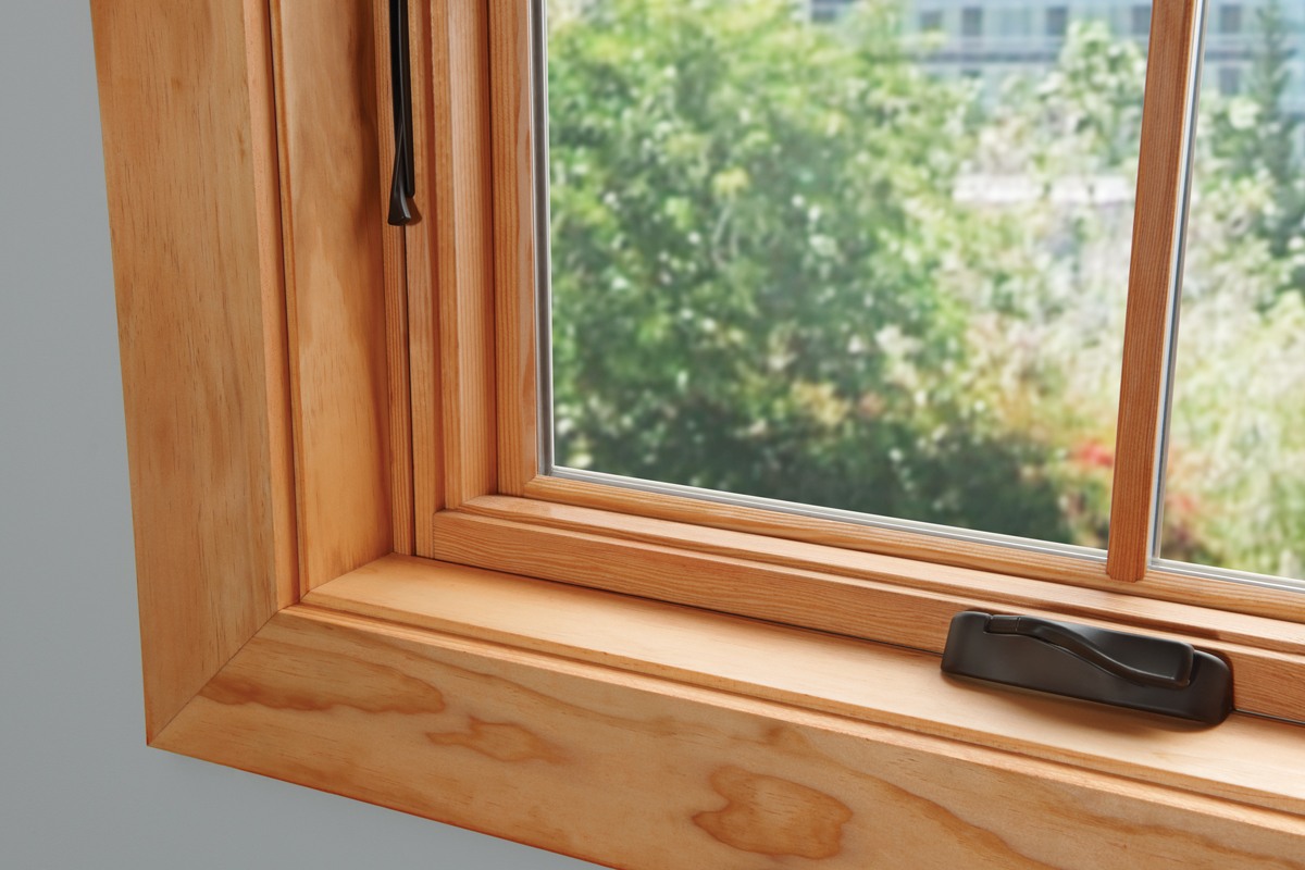 Interior wood windows - Essence