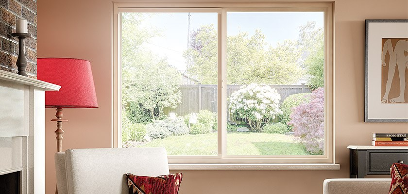Hermosa Series vinyl horizontal sliding window