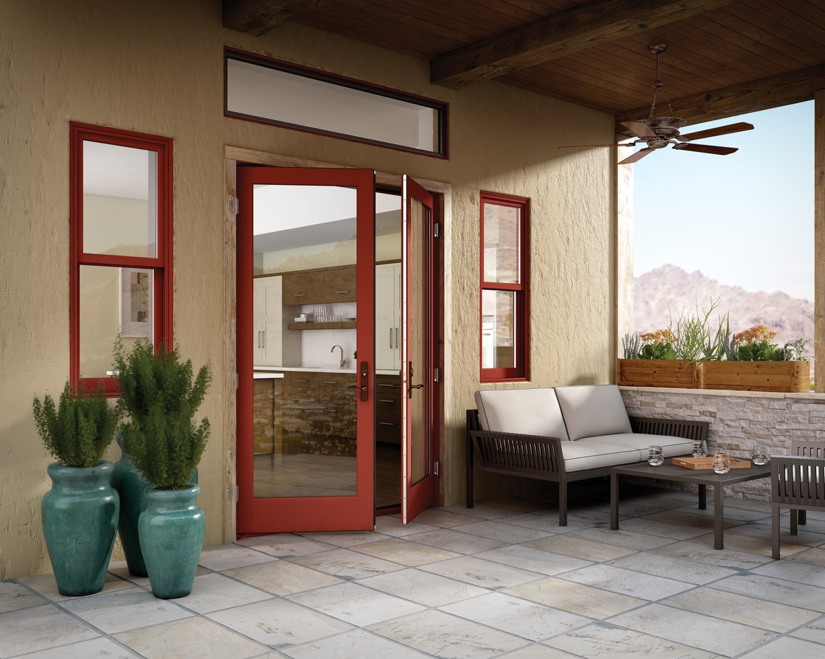 Essence Series® Out Swing French Doors