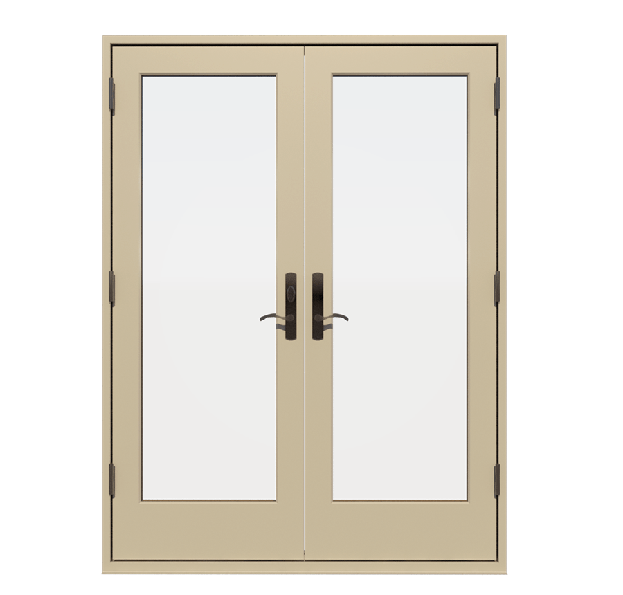 Fiberglass Outswing Exterior French Doors