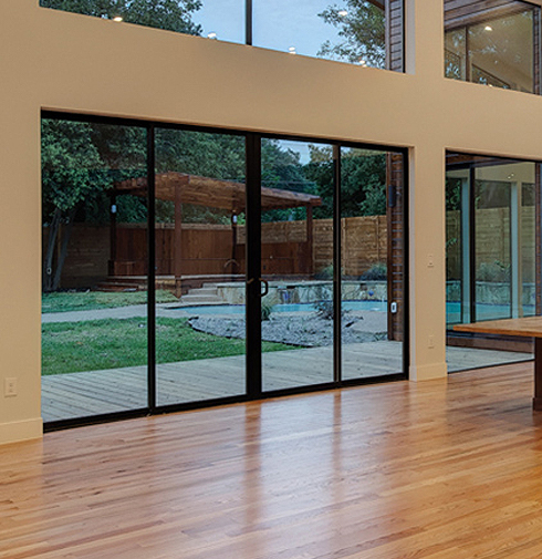 Milgard Aluminum Series Sliding Patio Doors Can Create A Contemporary, Yet  Timeless Look In Your Home. The Frame Material Is Very Strong, And Offers: