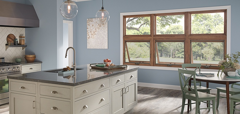 Essence Series wood awning windows
