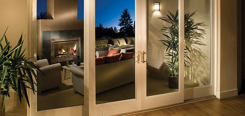 Charmant Ultra Series Fiberglass 4 Panel Sliding Patio Door
