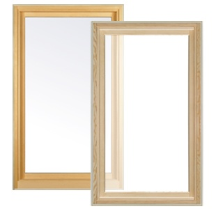 Essence Series Wooden Picture Window