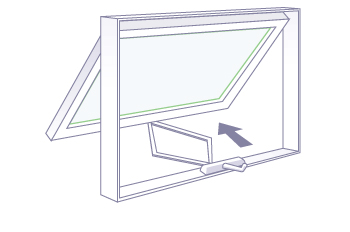 Awning Windows Wood Vinyl Fiberglass Amp Aluminum Milgard