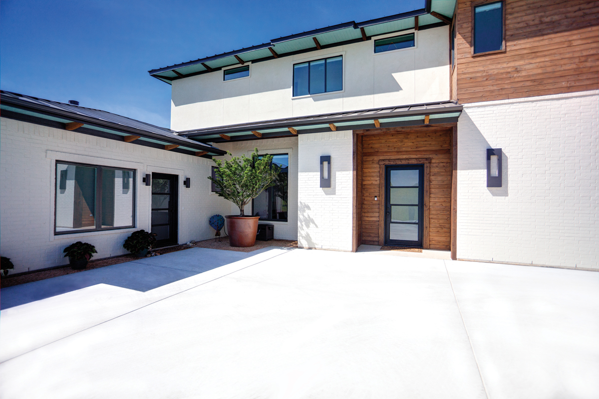 Style Line® Series windows shown on exterior of home