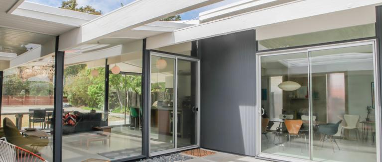 Aluminum Patio Doors Create An Indoor Outdoor Experience