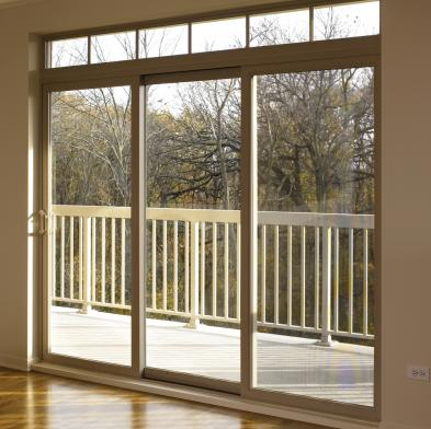 Style line series vinyl patio doors milgard windows for Patio door styles