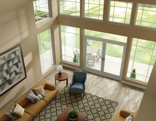 Ranch split level architectural style considerations for Large windows for homes