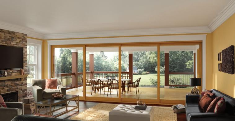 Moving Glass Wall Systems & French Out - Swing Swinging Glass Patio Door - Essence Series ... Pezcame.Com