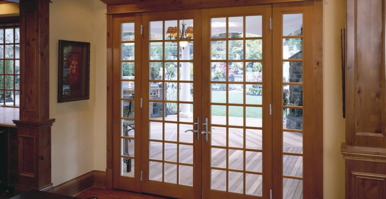 Ultra Amp Woodclad Series French Style Sliding Doors Milgard