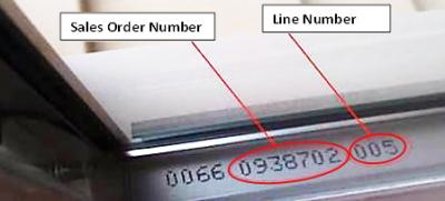 Please note that some windows might not have the SO# or Line Number if made before 1995. In this case please contact customer service at 1.800.MILGARD with ... & Milgard® Frequently Asked Questions | Milgard Windows u0026 Doors