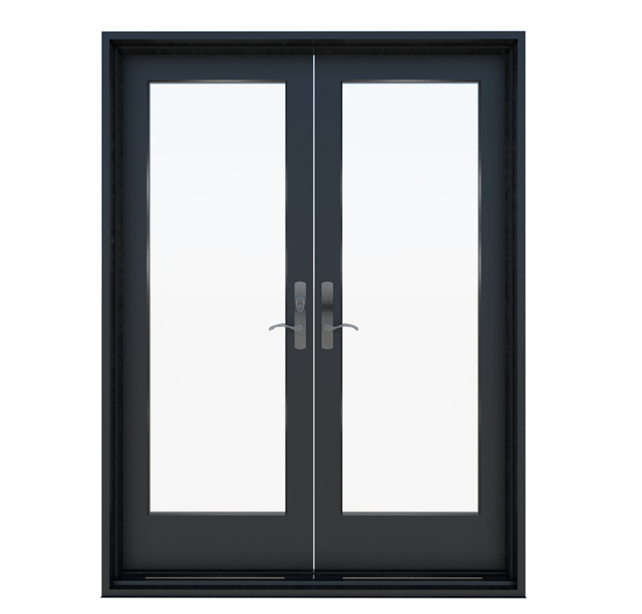 Wood In Swing French Patio Door Essence Series Milgard