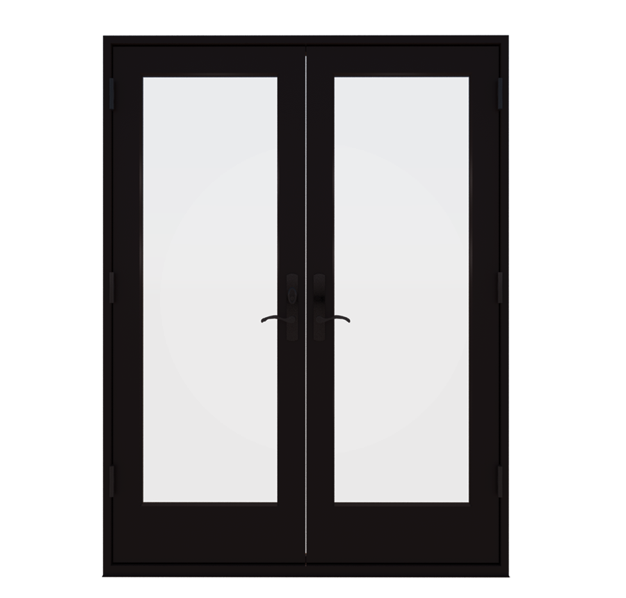 Wood Out Swing French Patio Door Essence Series Milgard