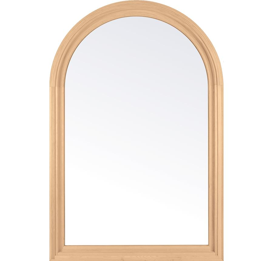 Essence Series Wooden Radius Window