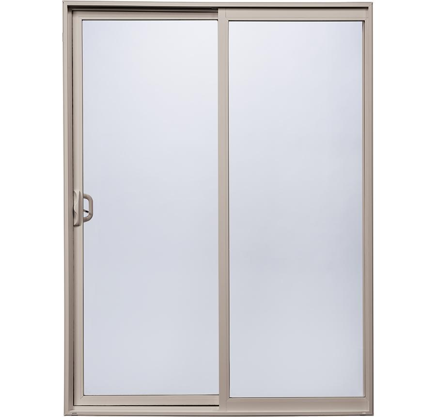 Thin frame sliding glass doors style line series milgard for Sliding glass door styles