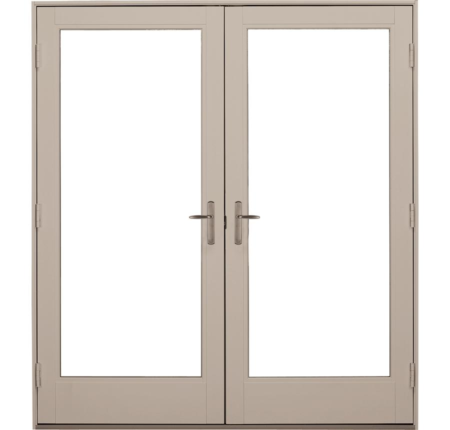 Fiberglass in swing french patio door ultra series milgard for Fiberglass french patio doors