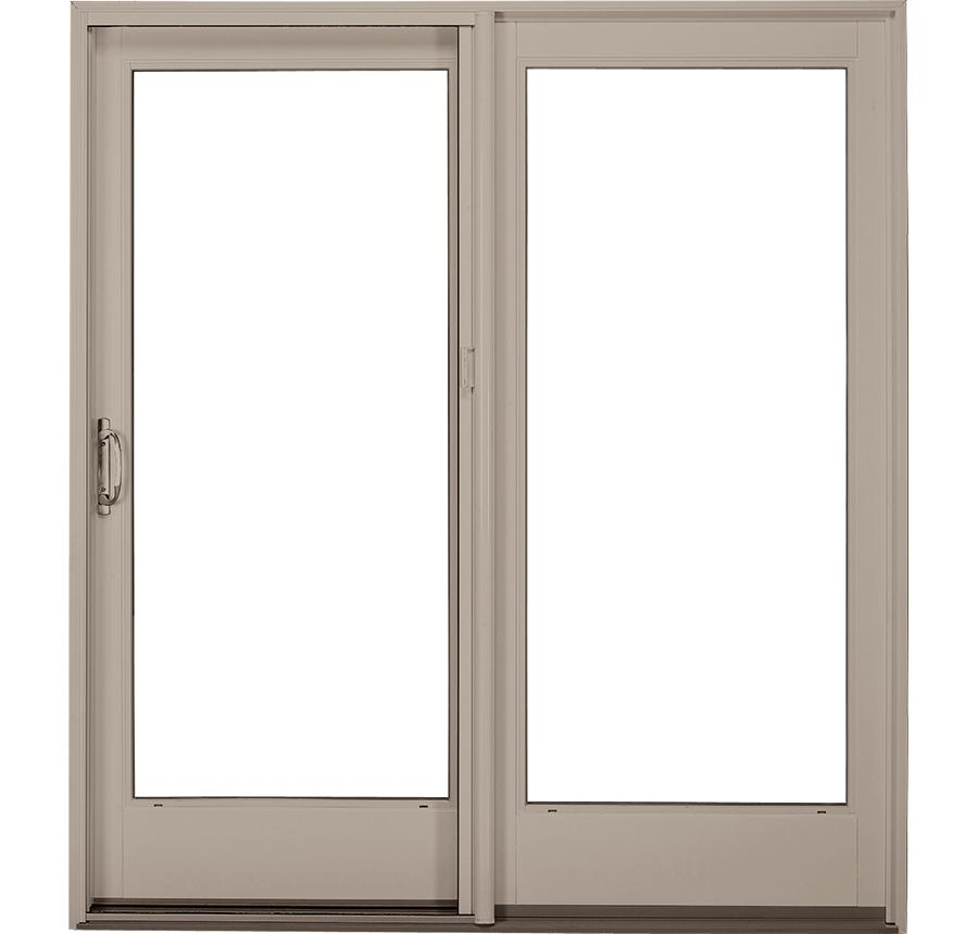 Fiberglass french style sliding glass patio doors ultra for Sliding glass door styles