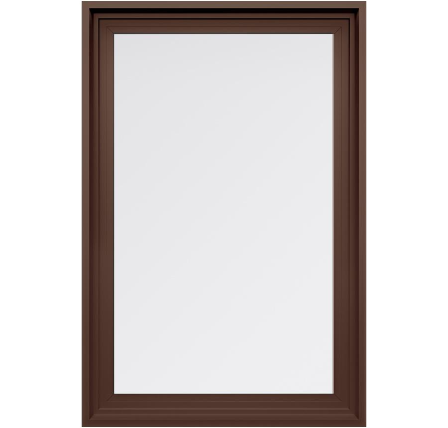 Trinsic Series Picture Window in Classic Brown