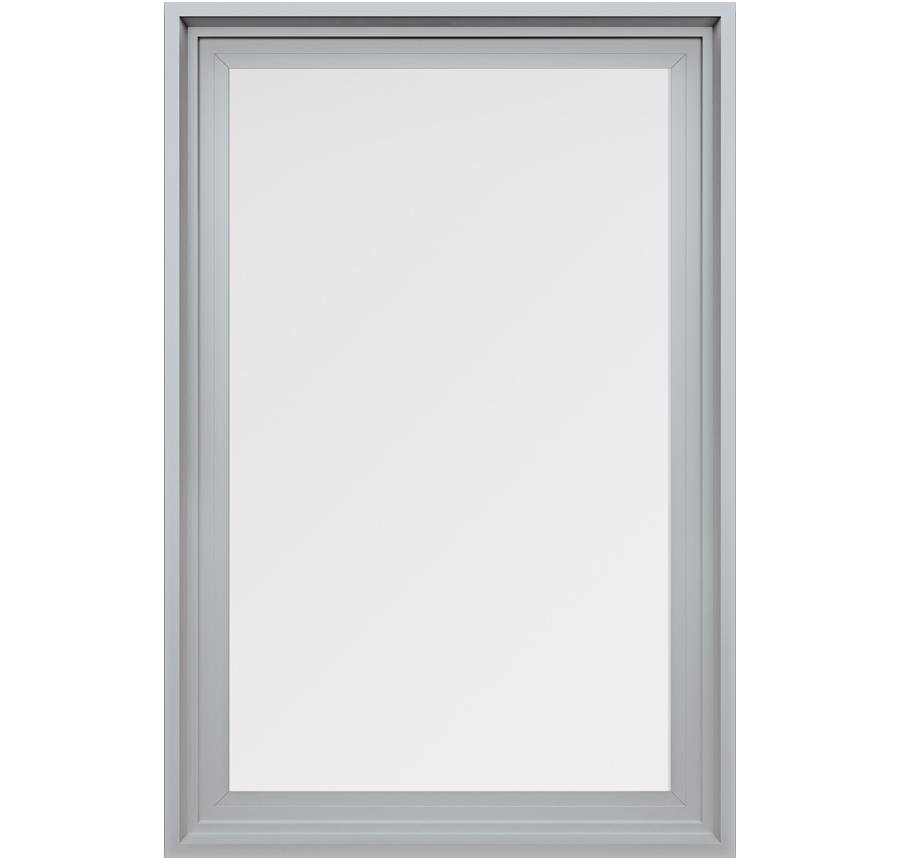 Trinsic Series Picture Window in Silver