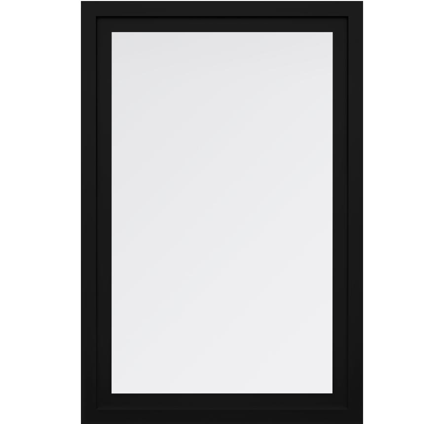 Trinsic Series Picture Window in Black