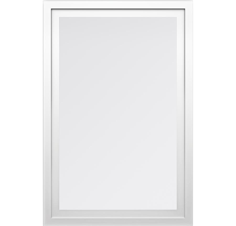 Trinsic Series Picture Window in White