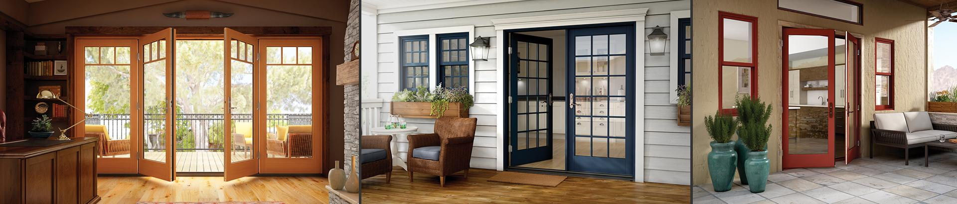 French casement windows photos houzz - Essence Series Swing French Patio Doors