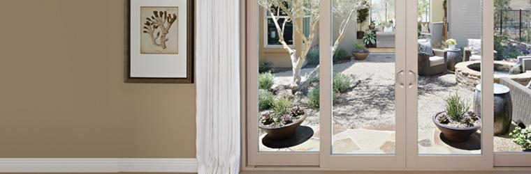 Vinyl Patio Doors Specially Designed For New Construction.