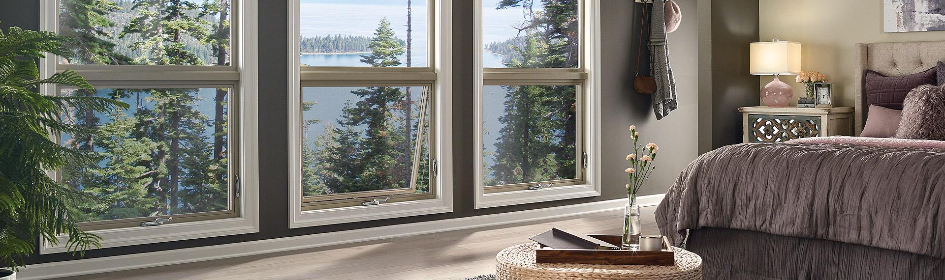 Ultra Series fiberglass awning picture windows