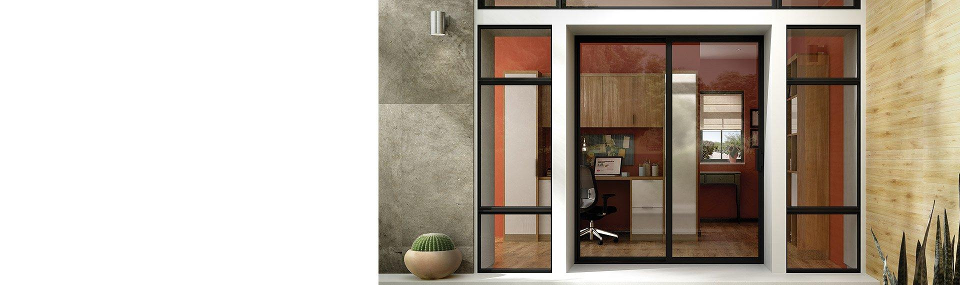 Aluminum Series sliding patio doors