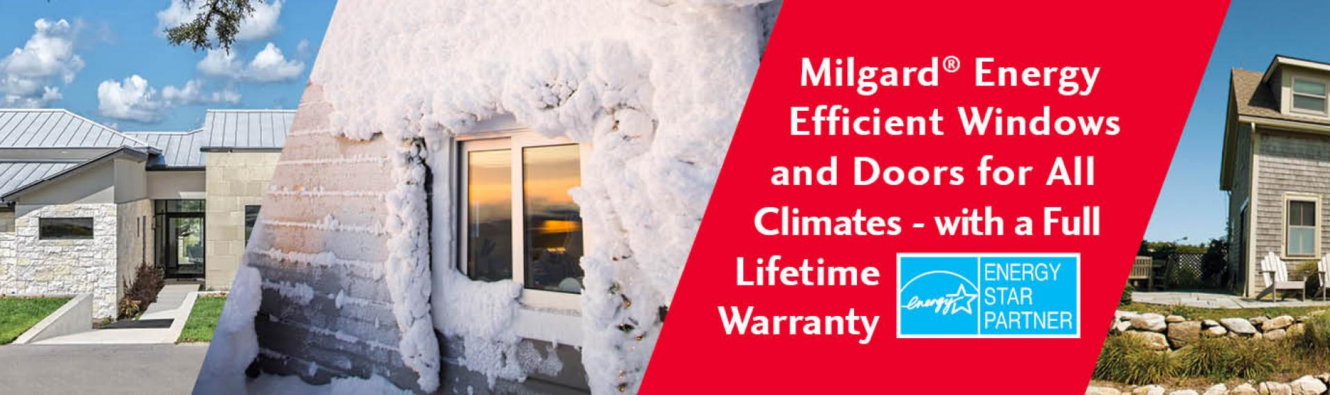 energy star energy efficient windows brochure milgard