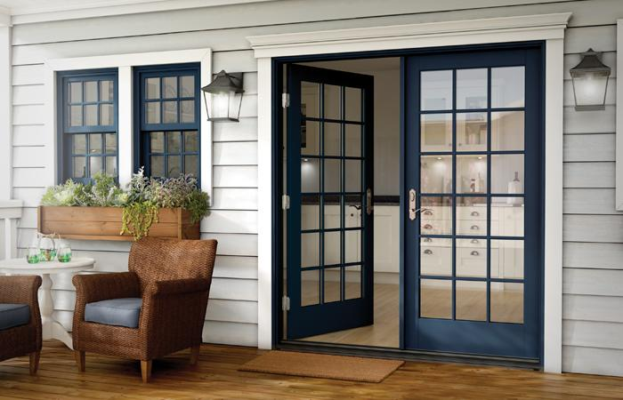 Wood French Patio Doors Essence Series Milgard