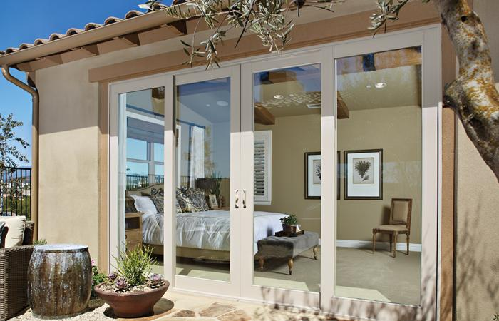 Montecito Series 4-panel sliding patio door