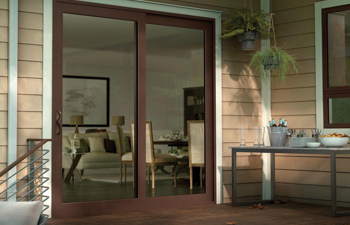 Tuscany Series Vinyl 2panel Sliding Patio Door With SmartTouch Handle