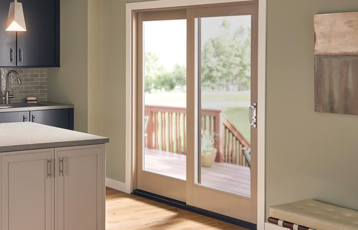 Ultra Series 2 Panel Sliding Patio Door In Harmony