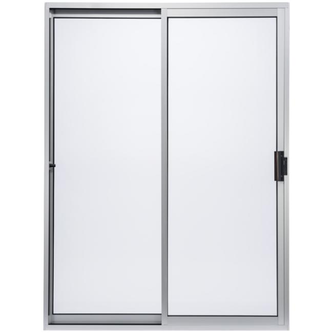 Standard aluminum sliding glass door milgard windows doors for Sliding glass door styles