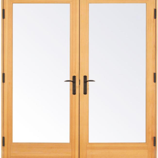 Essence series in swing french doors milgard for French doors exterior inswing
