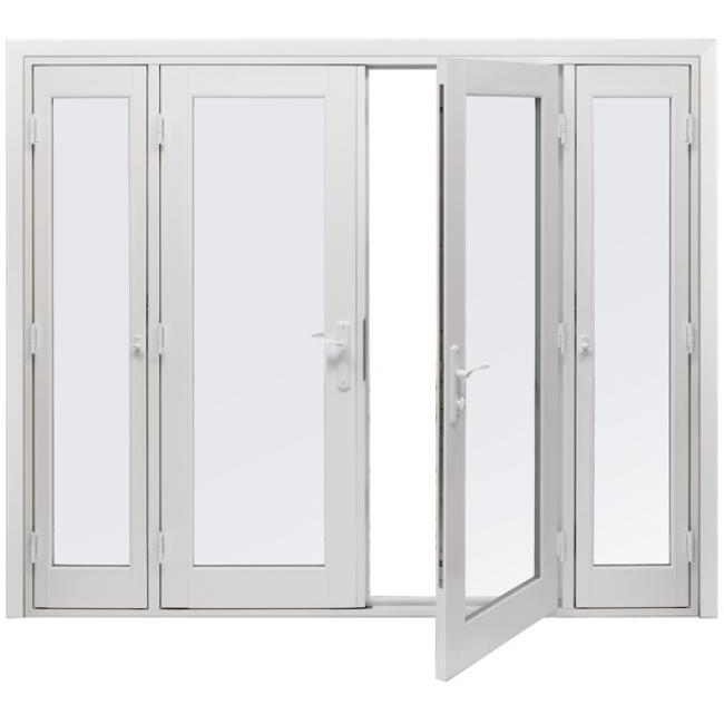 Tuscany 174 Series In Swing French Patio Doors Milgard