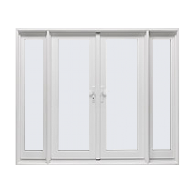 French out swing swinging glass patio doors tuscany for Locks for french doors that open out