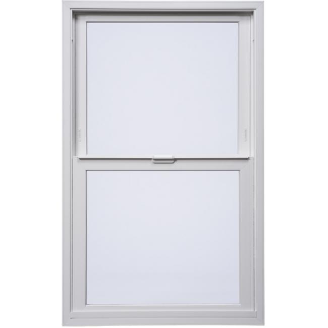 Tuscany series vinyl single hung windows milgard for Milgard vinyl windows