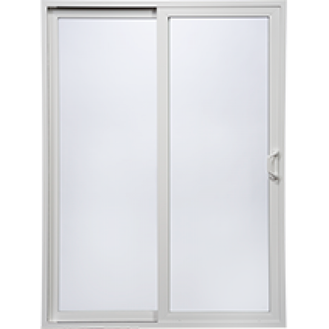 Tuscany series sliding patio doors milgard windows for Sliding glass door styles