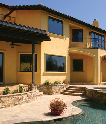 Great Symmetry With Architectural Designs Mediterranean: Spanish/Mediterranean/Stucco Architectural Style