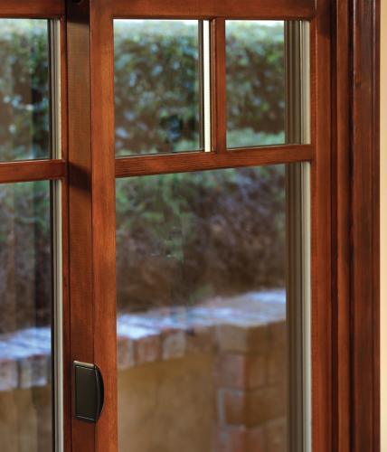 Essence Series wood horizontal slider windows