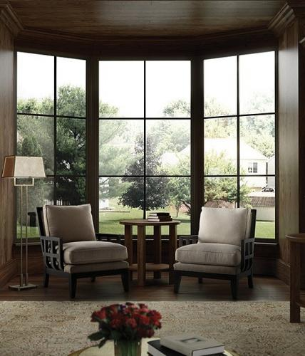 Milgard Ultra Series bay and bow windows